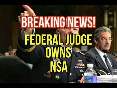 BREAKING: Federal Judge Rules NSA Spying Unconstitutional