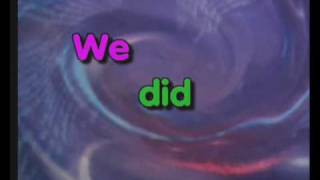 We Did It, English Time Songs
