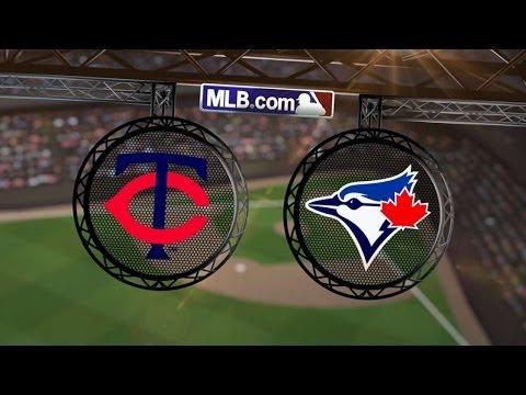 6/11/14: Twins bats' back strong Hughes