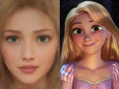 ¿Cómo Serian Los Personajes de Disney en la Vida Real?