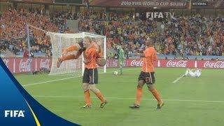 Robben, Sneijder lift Oranje to quarter-finals