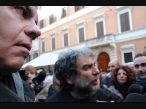 Berlusconi da Renzi .Italiani divisi. Roma 18 Gennaio 2014