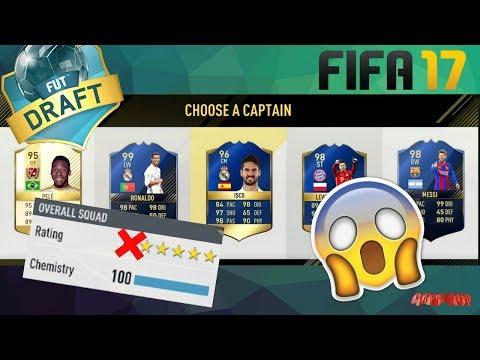 FUT DRAFT FAIL - FIFA 17