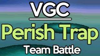 Pokemon VGC Doubles Perish Trap Team