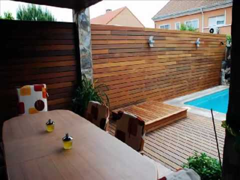 Tarima exterior y pavimentos exteriores instalacin de - Pavimentos para terrazas exteriores ...