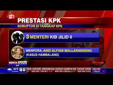 Indonesia Urutan 107 dari 175 Negara Terkorup