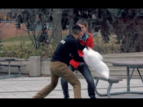 Thumbnail of video PILLOW FIGHT PRANK!