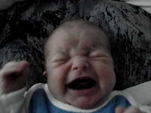 Evil Baby crying loudly