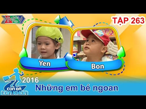 Bấn loạn vì cậu bé 4 tuổi cố nhịn ăn dù rất... thèm | CON ĐÃ LỚN KHÔN | Tập 263 | 13/08/2016