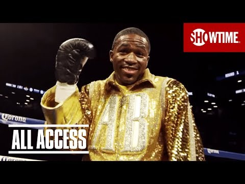 Behind the scenes as Adrien Broner and Marcos Maidana