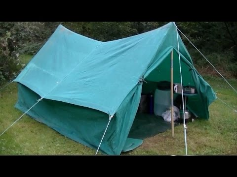 OLD TENT Hobo Camp @ Old Allens Homestead