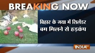 6 IED cylinder bomb found near a house in Bihar's Gaya