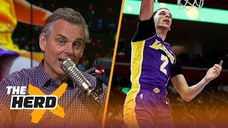 Colin Cowherd grades Lonzo's rookie year, talks Kawhi's future with the Spurs | THE HERD