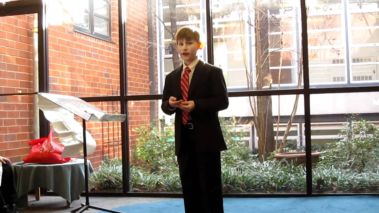 4th Grade Vice President Speeches