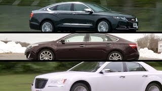 Large sedans - top choices | Consumer Reports