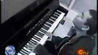 A R Rahman on piano