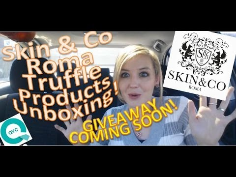 Skin & Co Roma Package Unboxing! + giveaway news!