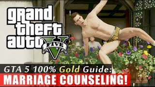 GTA 5 Walkthrough: Marriage Counseling (100% Gold Completion) HD