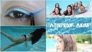 Drugstore Waterproof Makeup!