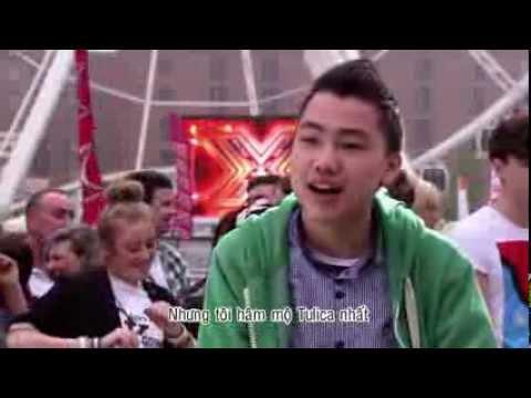 Thí sinh gốc Việt gây Sốc tại  X - Factor Nước Anh