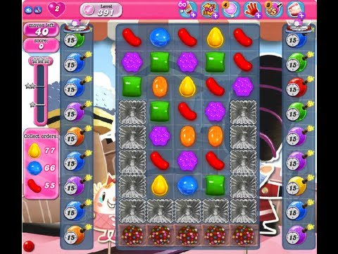 Candy Crush Saga Level 391