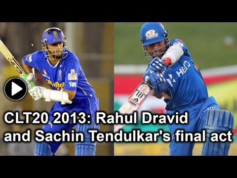 CLT20 2013: Sachin Tendulkar, Rahul Dravid's final salvo in limited-overs cricket