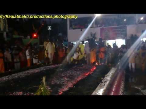 Marche sur le feu - Bois de  nèfles Piton St-Leu 2013