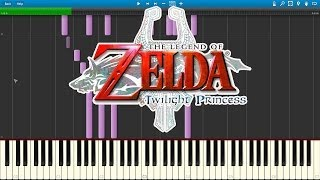 Hidden Village - Legend Of Zelda : Twilight Princess (Piano Cover) [Synthesia]
