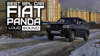 Fiat Panda - Лучший в мире автомобиль для SPL. Loud Sound Автозвук.