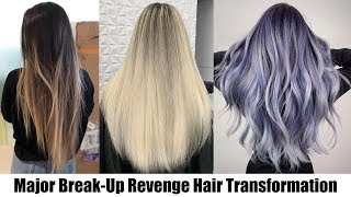 MAJOR BREAK-UP REVENGE HAIR TRANSFORMATION