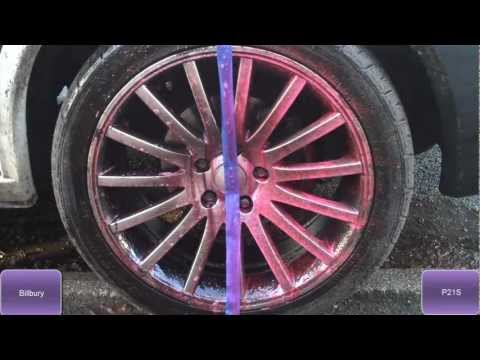 Best Alloy Wheel Cleaner Test - Valet Pro Bilberry vs P21s Powergel Acid Free Wheel Cleaners