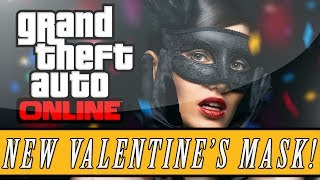 "GTA 5: ONLINE New Valentine's Day DLC ""Masquerade"" Masks"