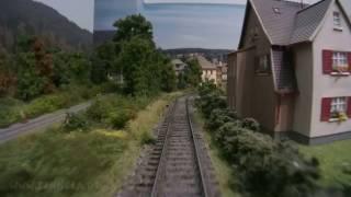 Führerstandsmitfahrt Modellbahnhof Stockheim in Spur H0