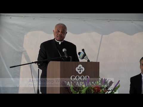 Archbishop Blesses New St. Mary's Good Samaritan Hospital