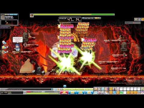 Maplestory - Lvl 122 Shade Solo Zakum Run