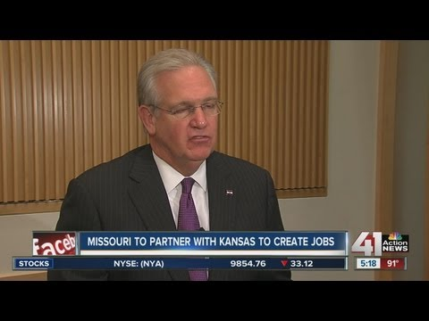 Gov. Jay Nixon to visit for Obama's Speech