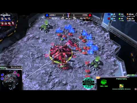 Ukraine vs. Poland - Game 3 - Nation Wars - StarCraft 2
