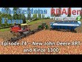 Farming Simulator 17 Snettertons E74 John Deere 8RT and Kinze