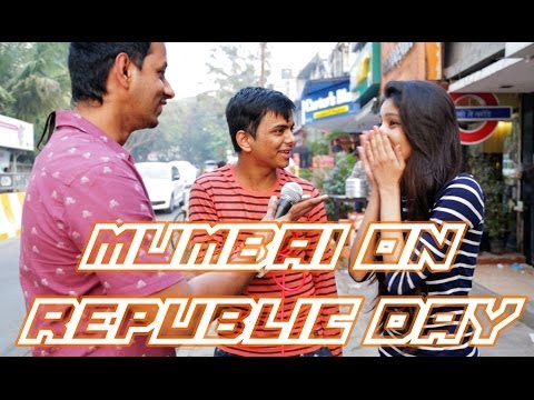 Mumbai on 65th Republic Day - It's All About BEING (Unaware) INDIAN Funny Video 2014