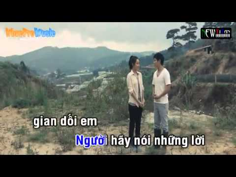 Loi Noi Doi Khong That Karaoke]   Pham Truong ft Ly Hai beat   YouTube
