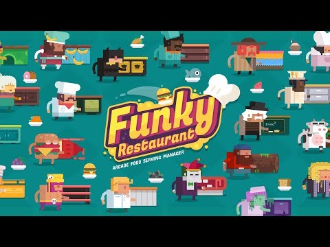 Funky Restaurant - arcade food serving manager - [Digital Melody]