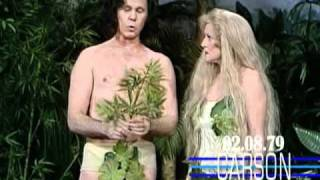 Johnny Carson: Betty White and the Garden of Eden, Adam and Eve Breakup 1979
