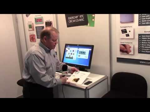 Cymbet demonstrates its chipscale battery tech at Embedded World 2014