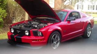 2008 Ford Mustang GT Premium Supercharged V8 Rev