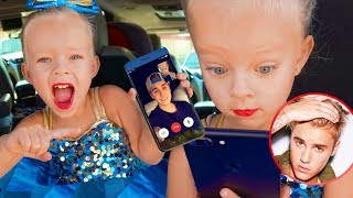 4 YEAR OLD GETS FACETIME CALL FROM JUSTIN BIEBER!