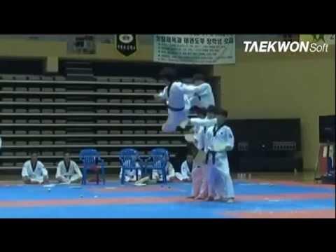 Taekwondo Hàn Quốc biểu diễn đẹp tuyệt vời ( Best kick Taekwondo)
