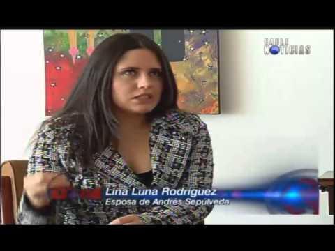 Exclusiva: Entrevista a Lina Luna esposa de Andrés Sepúlveda (COMPLETA)
