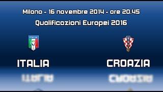 Promo Italia vs Croazia - 16 novembre 2014
