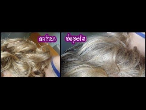 Como usar o Keraton Prata Cendré para desamarelar o cabelo ?