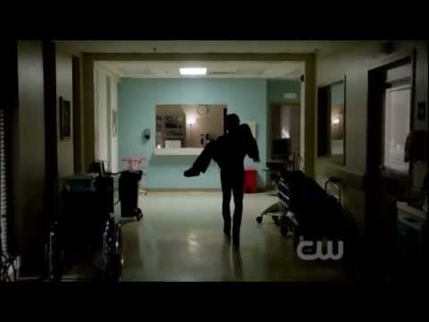 3x05 Damon & Elena hospital scene Vampire Diaries The Reckoning
